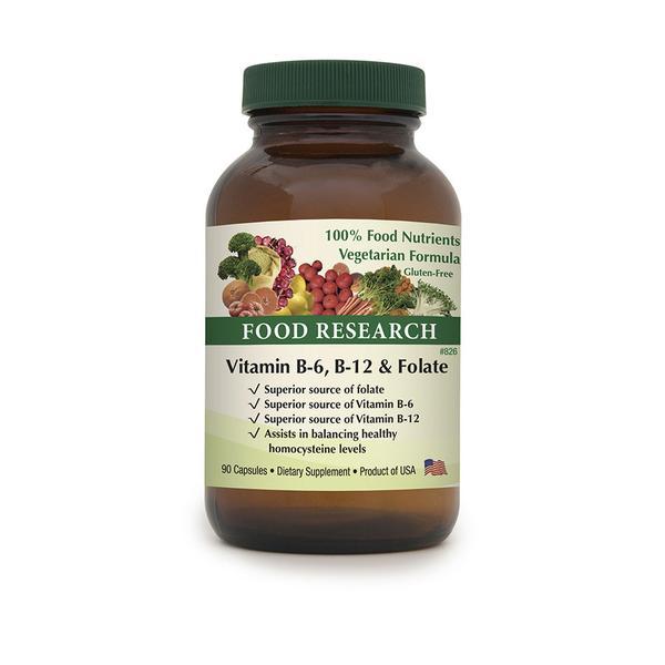Vitamin B-6, B-12 & Folate™