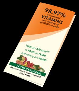 Vitamin-Mineral Brochure